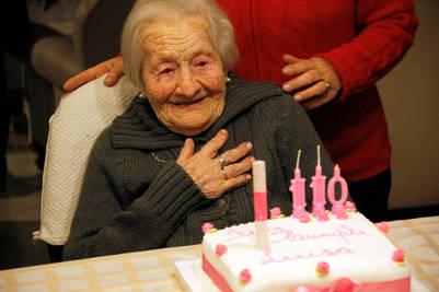 Luisa Roncoroni de Bizzozero nació en el año 1903 en el barrio porteño de Boedo.