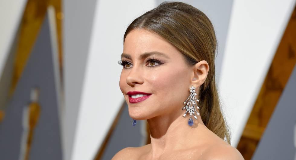 Sofía Vergara en los premios Oscar 2016.