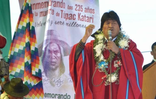 """Morales asegura que los """"procapitalistas"""" no tienen derecho a festejar el día de la patria"""