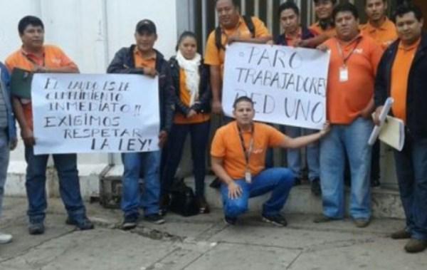 Juzgado ordena inmediata reincorporación de trabajadores despedidos de Red UNO