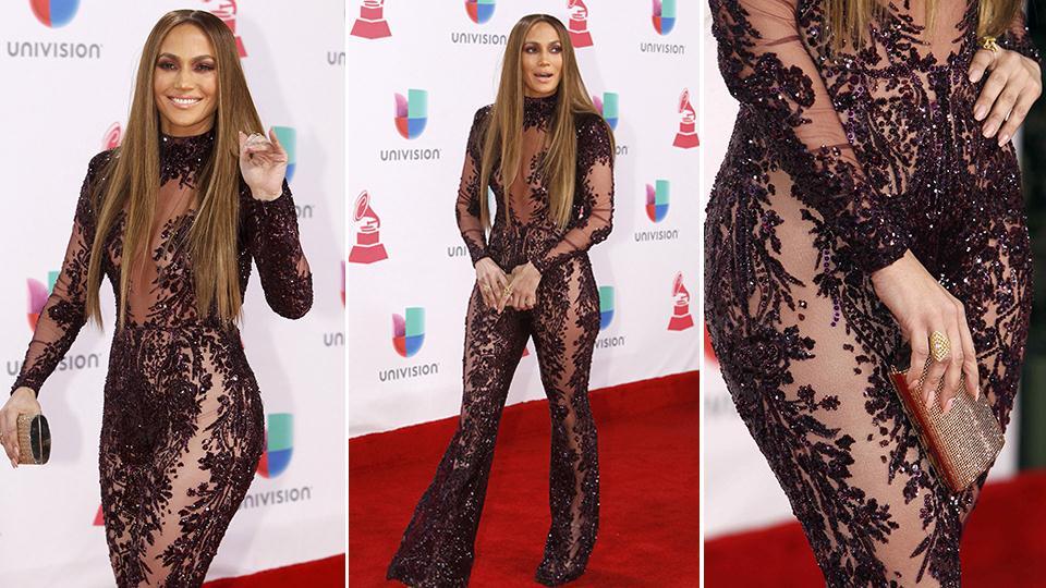 ¿No será mucho? Jennifer Lopez, siempre (demasiado) sexy. Foto: Agencias