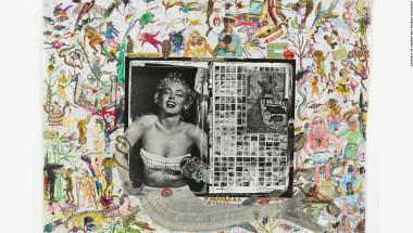 Lejos de atenuar su atractivo, los homenajes a la estrella han continuado fervientemente después de la muerte de Monroe. 'Dead Elephant Book Diary, Marilyn Monroe' fue creado por Peter Beard en 1971, nueve años después de su muerte debido a una sobredosis de barbitúricos.