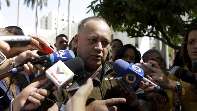 Diosdado Cabello, vicepresidente del Partido Socialista Unido de Venezuela (Psuv) y diputado a la Asamblea Nacional