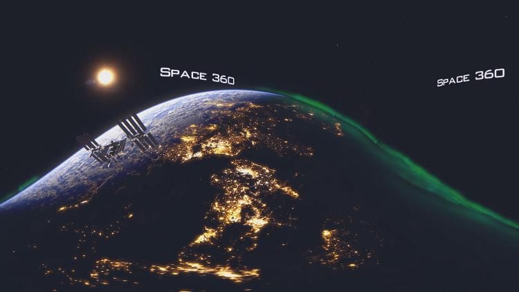 El proyecto pionero y especial de RT 'Space 360'