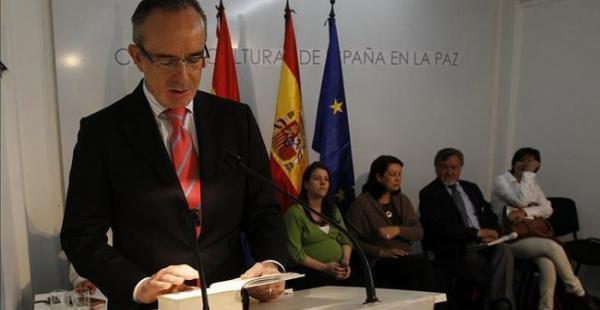 El diplomático español alabó las oportunidades nuevas e inéditas que se abren en Bolivia