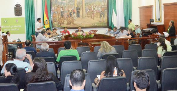 El Concejo Municipal se adhirió a los esfuerzos del ejecutivo municipal