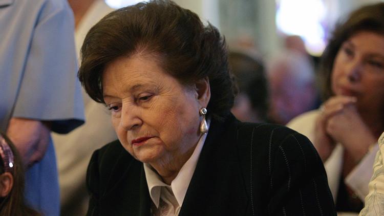 Lucia Hiriart, viuda de Augusto Pinochet