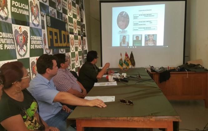 Presentan a la banda de presuntos raptores del hijo del senador Ferreira