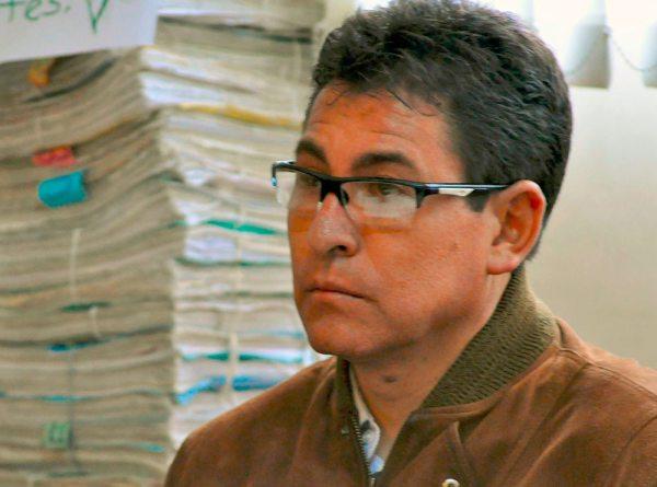 El mayor de Policía Freddy Valda.