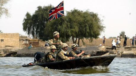 Los soldados británicos en Irak
