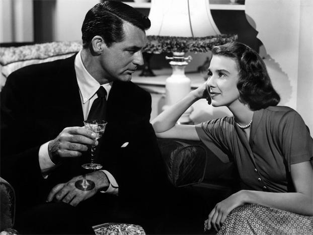 Cary y Betsy en una escena de la primera película que protagonizaron juntos