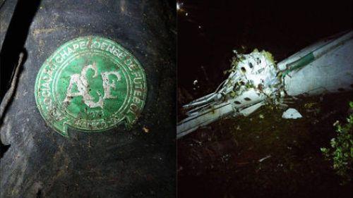 Imágenes del avión siniestrado del club Chapecoense. Foto: @AndresFelipe