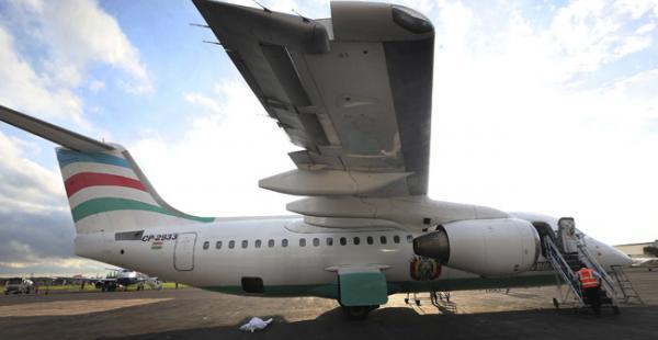 El avión siniestrado también transportó a la selección boliviana y a la argentina