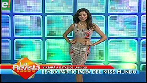 Leyda Suárez rumbo al Miss Mundo 2016