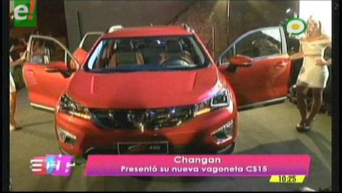 Changan presentó nuevo modelo de vehículo
