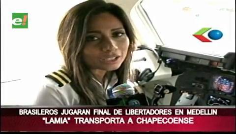 Las últimas palabras de Sisy Arias antes de despegar con el Chapecoense