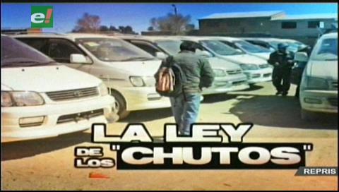 """Informe especial: """"La ley de los vehículos chutos"""""""