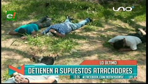 Policía frustra atraco en Santa Cruz