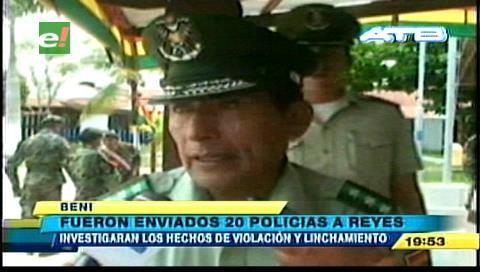 Incrementan la presencia de policías en municipio Reyes
