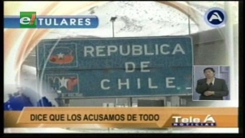 """Titulares de TV: Agente de Chile ante La Haya por el caso del Silala, considera a Bolivia """"vociferante"""" y que busca la victimización"""