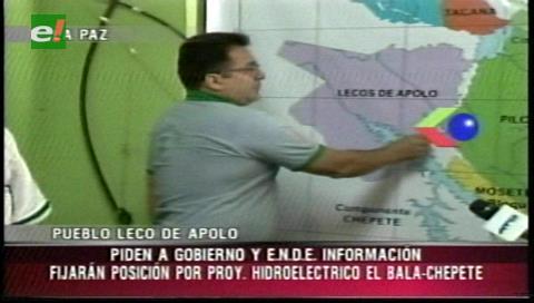 21 comunidades del pueblo leco de Apolo exigen informe de El Bala