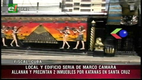 Caso Katanas: Precintan dos lenocinios de Marco Cámara en Santa Cruz