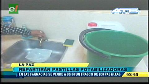 Repartirán pastillas potabilizadoras a centros de salud de La Paz