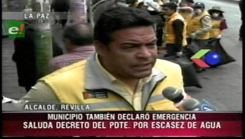 La Paz: Resolución edil declara la emergencia en el Municipio por la falta de agua