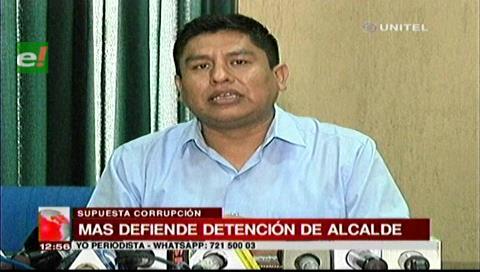 El MAS justifica detención del alcalde de Concepción por supuesta corrupción