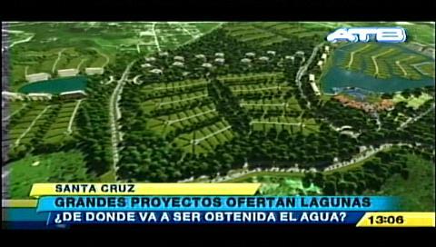 Peligran acuíferos por construcciones en el Urubó sin licencia ambiental