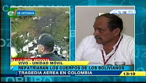 LaMia repatriará cuerpos de bolivianos muertos en 72 horas