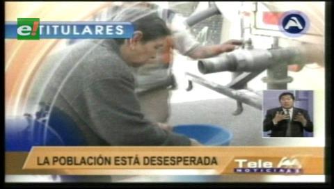 Titulares de TV: Evo Morales presentará el plan para la provisión de agua en las áreas urbanas