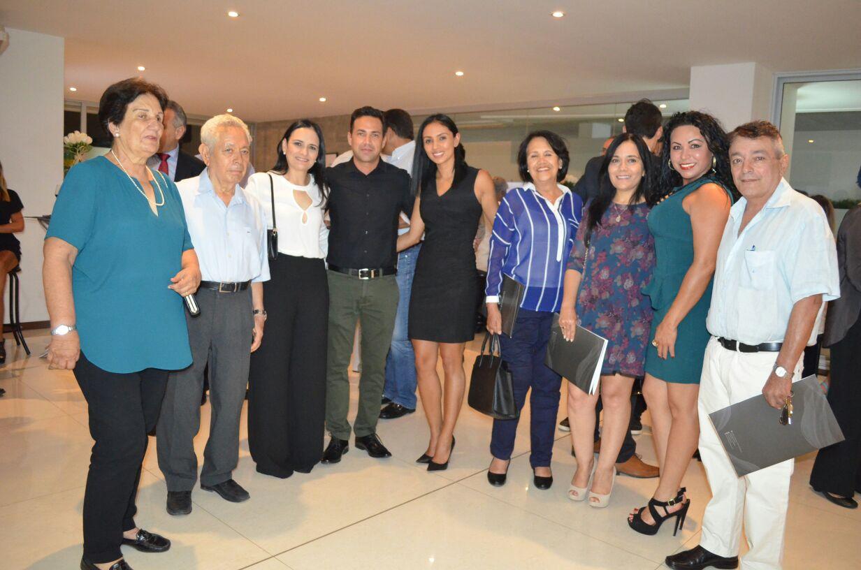 Invitados a la noche de inauguración de Torres Platinum II