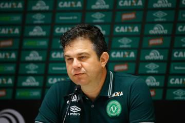 El director de comunicación del club de fútbol brasileño Chapecoense, Andrei Copettti.