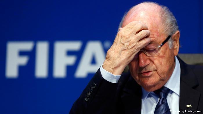 FIFA Kongress Blatter (Reuters/A. Wiegmann)