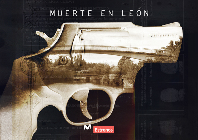 Cartel promocional de Muerte en León.