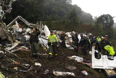 Accidente Chapecoense