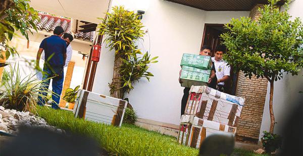 El Ministerio Público cerró el acceso a las oficinas de la línea aérea