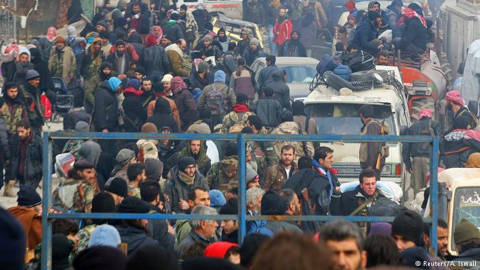 Aleppo Evakuierung (Reuters/A. Ismail)