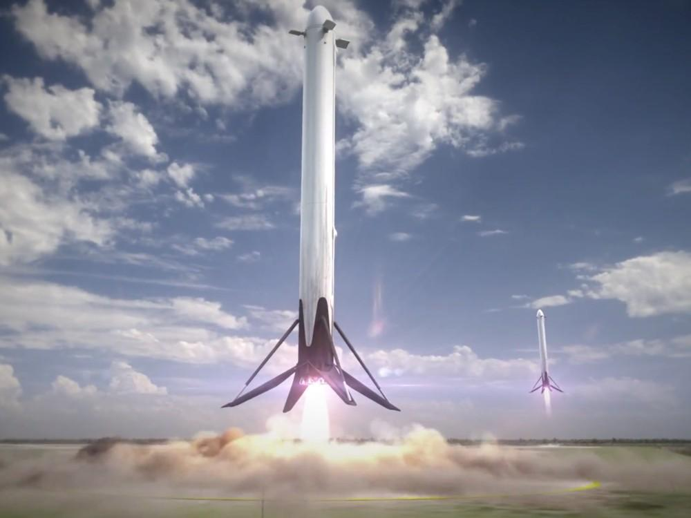 Space X y los cohetes reutilizables
