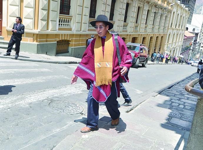 JUICIO. El ex magistrado Gualberto Cusi se presentará hoy, ante un tribunal de sentencia.