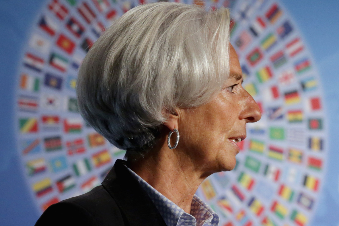 Christine Lagarde, culpable pero no.