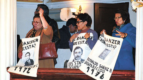 Comisión de la Verdad. Foto: www.diputados.bo