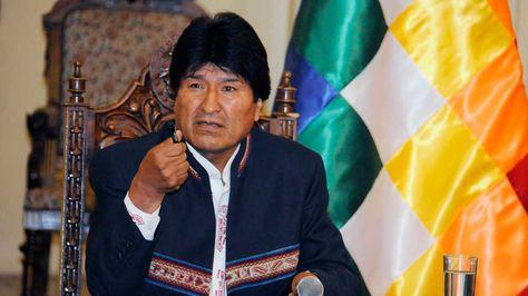El presidente Evo Morales en conferencia de prensa agradeció el video de apoyo a la centenaria demanda marítima boliviana.