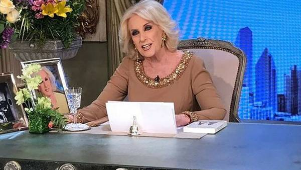 Mirtha Legrand pone un pie en Youtube (Instagram)