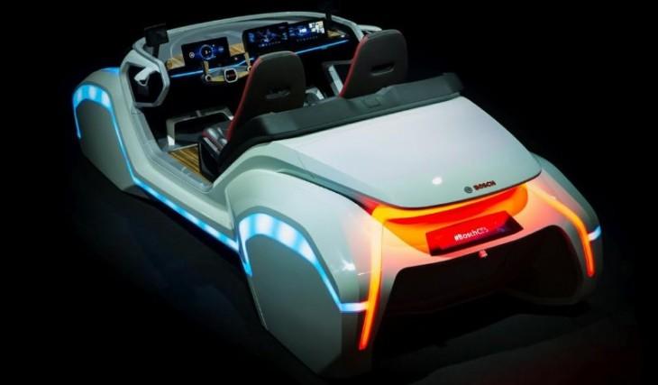 Concepto de coche inteligente de bosch