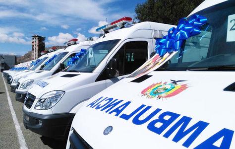 Ambulancias en Cochabamba