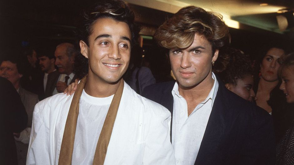 Andrew Ridgeley y George Michael del grupo Wham (Hulton Archive/Getty Images)