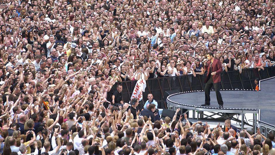 Michael se presentó en el nuevo estadio de Wembley en junio de 2007 (Jim Dyson/Getty Images)