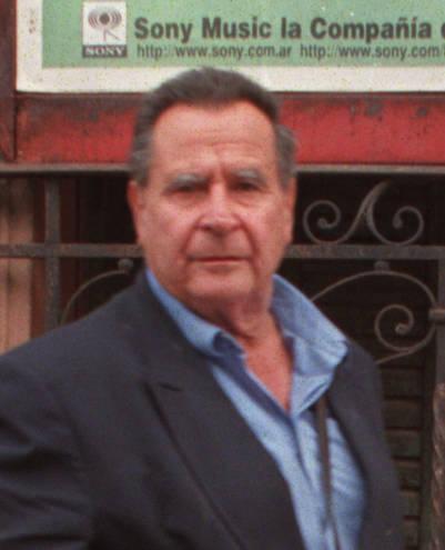 El escritor Dalmiro Sáenz